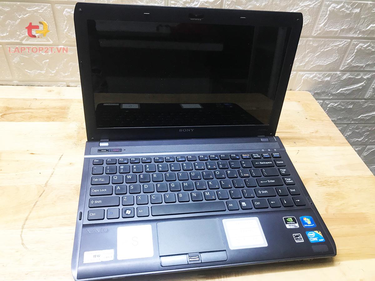 Laptop cũ Sony VPCS13 Core i5 - Ram 2G - HDD 500GB