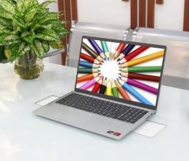 [Mới 100%] Laptop Dell Inspiron 3515 Ryzen R5-3500U/ Ram 8GB/ SSD 256GB/ Silve