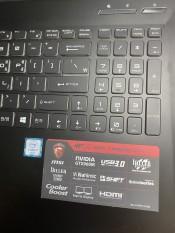 Laptop MSI Gaming GP62 6GF i7-6700HQ/Ram 8gb/SSD 128gb + 1T/VGA 960M/15.6 FHD