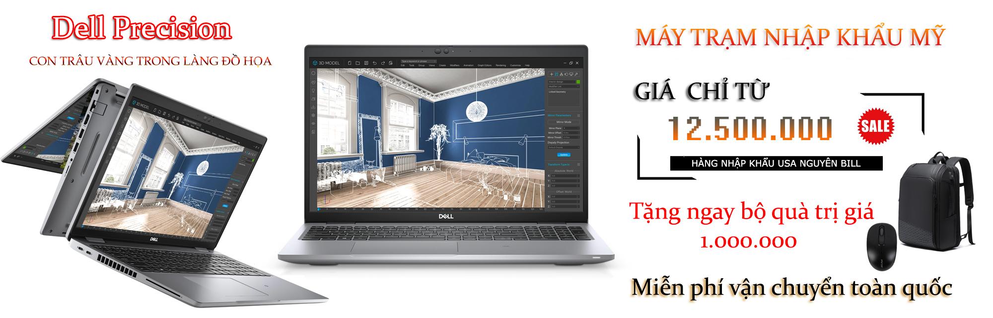 Laptop đồ họa Dell Precision